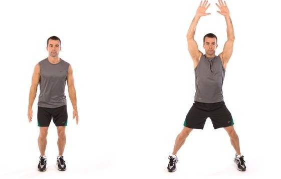 Jumping jacks beneficios